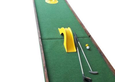 Piste de mini golf